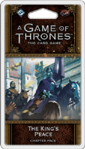 A Game of Thrones : The Card Game (Second Edition) – The King's Peace